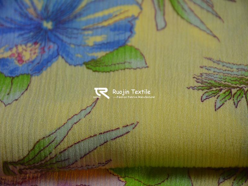 30sx24s Printed Rayon Crepe